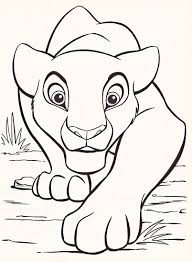 These disney coloring pdf pages are great party activities too. Disney Coloring Pages Lion King Free Large Images Lion King Drawings Lion Coloring Pages King Drawing