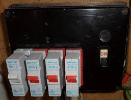do i need a new fuse box or consumer unit? fact files from fuse in breaker box wont reset early 1970s mcb retrofit into 1950s fusebox