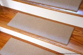 dean non slip tape free pet friendly diy carpet stair treads rugs 27 x 9 15 color cream