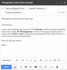 Send Mail Format Copy Unique Pics Email For Sendingsume To Templates