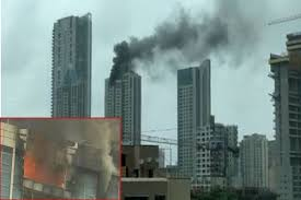Image result for FIRE IN DEEPIKA FLAT BUILDING AND OFFICE