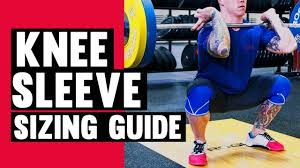 How To Determine Your Rehband Knee Sleeve Size Youtube