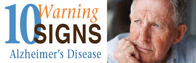 Image result for 10 warning signs of alzheimer's