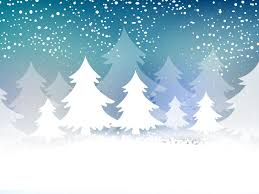christmas cards backgrounds christmas tree card powerpoint templates blue christmas free