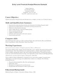 Resume Objective Examples Entry Level Accounting. Resume Objective ...