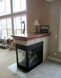 3 sided gas fireplaces three sided fireplace with tile surround and oak mantle top 3 sided gas fireplace napoleon