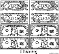 one dollar bill coloring page new exploit money coloring sheets pages just arriv 4486 unknown of