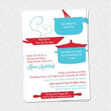 Kitchen Bridal Shower Retro Kitchen Bridal Shower Invitation Printable Theme