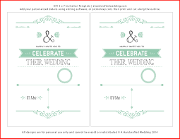 Lovely Wedding Invitation Layouts Free Collection Of Free