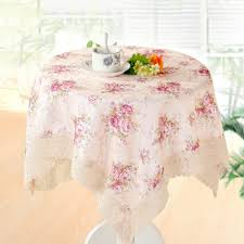 yuntai multi use towel small round table cloth square bedside microwave towel refrigerator washing machine cover towel flower stream love purple 60 60cm