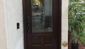 front door refinishing in los angeles