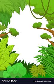 jungle background vector. Contemporary Vector Cartoon Tropical Jungle Background Vector Image Inside Jungle Background Vector U