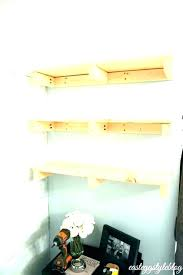 solid wood floating shelf nz oak fixings brackets shelves walnut medium radiator hall kitchen alcove thick