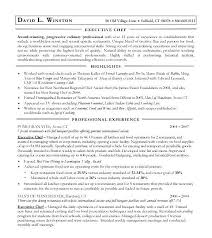 Sous Chef Resume Sample From Cook Resume Objective Examples Nice