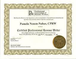 Pamela Nonen, CPRW. Your Rsum Professional