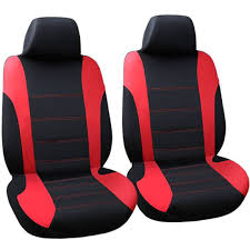 car seat covers in red universal