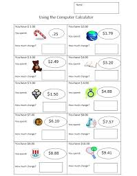 free counting money making change worksheets – streamclean.info