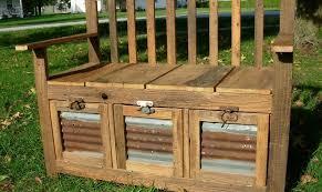 deck storage bench wood storage bench outdoor cushion storage outdoor storage box seat garden bench with
