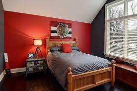 Fiery and Fascinating: 25 Kids' Bedrooms Wrapped in Shades of Red | Red  accents, Bedrooms and Walls