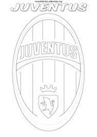 Disegni Da Colorare Di Calcio Della Juventus Scudetti Della