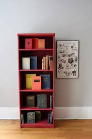 Painting with Red and Collecting Vintage Books A Simpler Design a