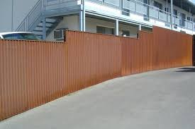 solid metal fence. Metal Privacy Fence Panels With Awesome Wooden And Ideas . Solid L