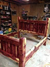 Cedar Bed Frame Cedar Bed Frame Cedar Post Bed Frame – dawnchen.info