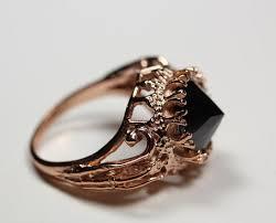 rose gold vermeil black cz blood milk jewels