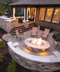 deck patio with fire pit. Deck Patio With Fire Pit Photo - 1 T