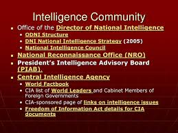 Director Of National Intelligence Organization Chart Ppt Structure Organization Process How Decisions Are Made