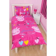 24 best Peppa pig images on Pinterest | Girl nurseries, Kidsroom ... & Peppa Pig Single Duvet Set | Bedding | ASDA direct Adamdwight.com