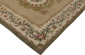 consigned antique savonnerie rug with french provincial style 12 6x13 traditional area rugs by esmaili rugs and antiques inc