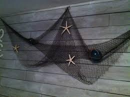 Decorative Fish Netting Fish Net Wall Decor My Home Remodel Pinterest Decor Fish