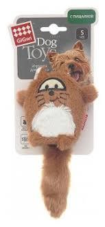 Купить <b>Игрушка</b> для собак <b>GiGwi Dog Toys</b> Лиса (75220) по ...