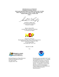 Pdf Archeological Overview And Remote Sensing Survey For