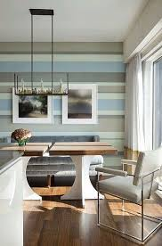 {How to Paint Horizontal Wall Stripes} great inspiration and tutorials for  painting cabana stripes