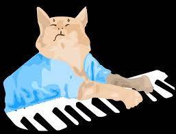 Keyboard Cat Vector Art by melwen on ...