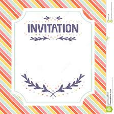 business invitation templates word invitation template  invitation template royalty stock photos image 28827548