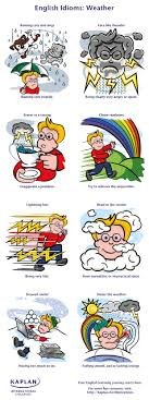 weather idioms kaplan blog weather idioms