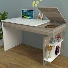 hidden office desk. HIDDEN-Bureau-White-Avola-Computer-Workstation-Home-Office- Hidden Office Desk