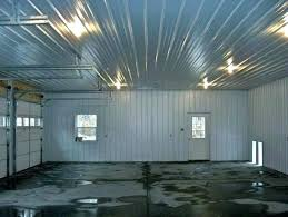 non galvanized corrugated metal roofing a awesome ceiling panels garage