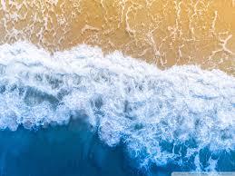 blue ocean aesthetic background ultra