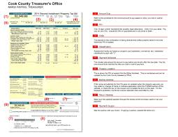 see an example cook county property tax bill here