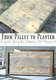 this is a super easy s wood project make this awesome planter from pallets or