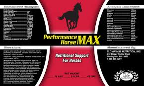 Equine Joint Supplement Comparison Chart Performance Horse Max