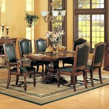 Dining Room Table Sets Leather Chairs Collection