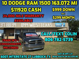 Cars For Sale in Lubbock, TX - West Texas Consignment