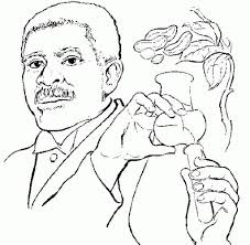 Shocking George Washington Carver Coloring Page Printable Image Of