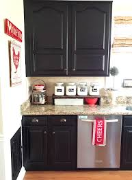 milk paint for kitchen cabinetsPainted Kitchen Cabinets Makeover Before  After  At Home With