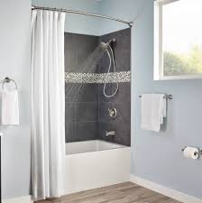 rounded shower curtain rod. This Curved Shower Rod Is Made Of Corrosion-resistant Materials, So It Will Continue To Look Great In Your Day And Out. Rounded Curtain